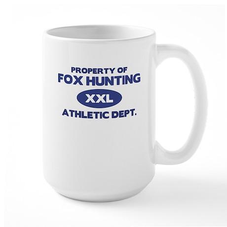 Fox Hunting Large Mug