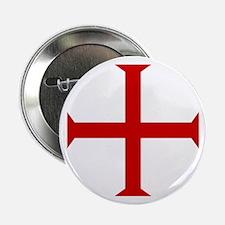 "Knights Templar Cross 2.25"" Button"