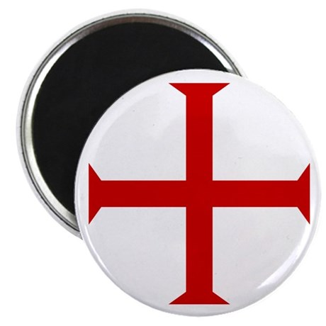 Knights Templar Cross Magnet