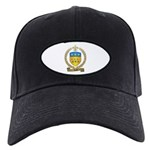 ALLAIN Family Crest Black Cap