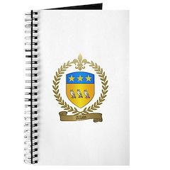 ALLAIN Family Crest Journal