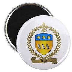 ALLAIN Family Crest Magnet