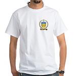 ALLAIN Family Crest White T-Shirt