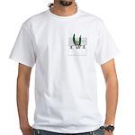 Masonic Ashlar & Acacia White T-Shirt