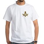 Masonic Sun White T-Shirt