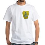 Masonic Keystone White T-Shirt