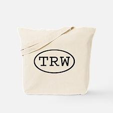 TRW Oval Tote Bag