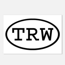 TRW Oval Postcards (Package of 8)