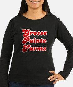 Retro Grosse Point.. (Red) T-Shirt