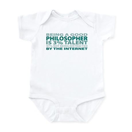 Good Philosopher Infant Bodysuit