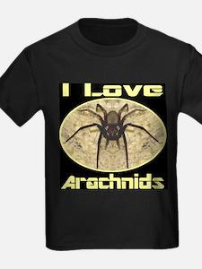I Love Arachnids T