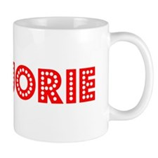 Retro Marjorie (Red) Small Small Mug