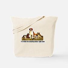 Poker Dogs Tote Bag