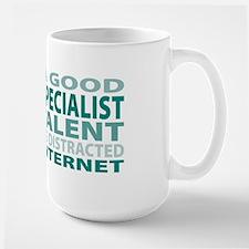 Good Payroll Specialist Large Mug