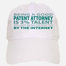 Good Patent Attorney Baseball Baseball Cap