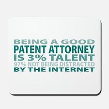 Good Patent Attorney Mousepad