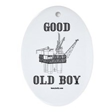 Good Old Boy Oval Ornament