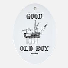 Good Old Boy Oval Ornament