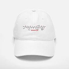 Samantha name molecule Baseball Baseball Cap