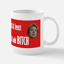 Hot Coffee - Cold Clinton Mug