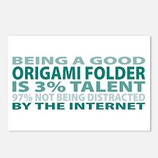 Good Origami Folder Postcards (Package of 8)