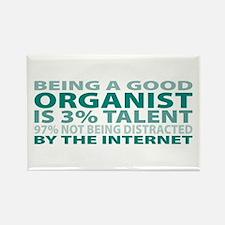 Good Organist Rectangle Magnet