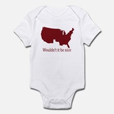 no texas Infant Bodysuit