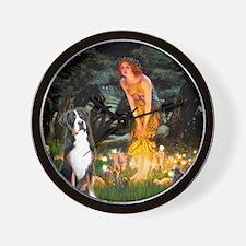 MidEve/Greater Swiss Mountain Dog Wall Clock