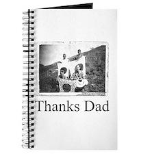 Thanks Dad Journal