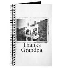 Thanks Grandpa Journal