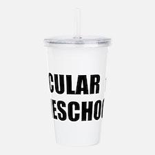 Secular Homeschooler 1 Acrylic Double-wall Tumbler