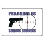 Serious Fragging Banner