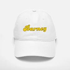 Retro Barney (Gold) Baseball Baseball Cap