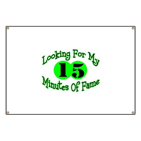 Minutes Of Fame Banner