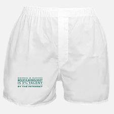Good Molecular Biologist Boxer Shorts