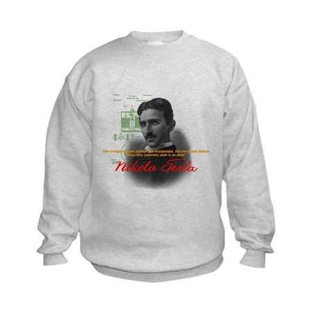 Nikola Tesla Kids Sweatshirt