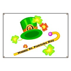 Happy St. Patricks Day Banner