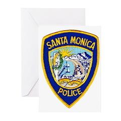 Santa Monica PD Greeting Cards (Pk of 20)