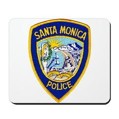Santa Monica PD Mousepad