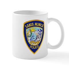 Santa Monica PD Mug