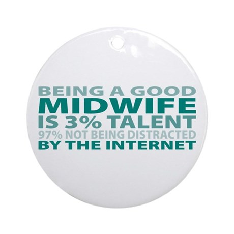 Good Midwife Ornament (Round)