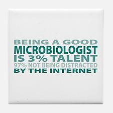 Good Microbiologist Tile Coaster