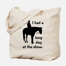 Long Day At The Show Tote Bag