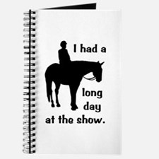 Long Day At The Show Journal