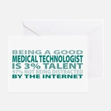Good Medical Technologist Greeting Card