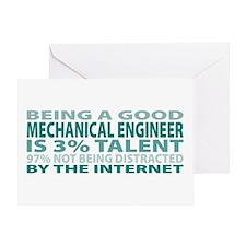 Good Mechanical Engineer Greeting Card