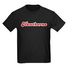 Retro Hawthorne (Red) T