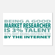 Good Market Researcher Postcards (Package of 8)