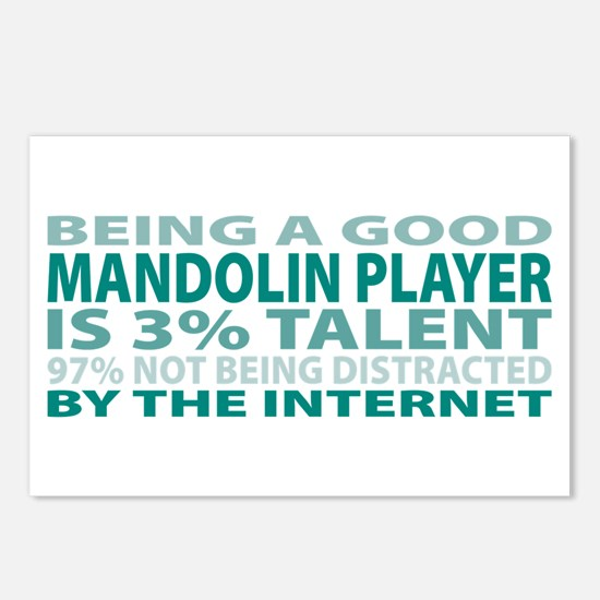 Good Mandolin Player Postcards (Package of 8)
