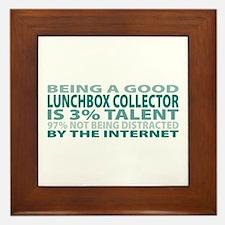 Good Lunchbox Collector Framed Tile